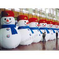 Надувные Снеговики. Стилизованные., фото 1
