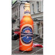 """Надувная Бутылка """"Балтика"""", фото 1"""