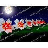 Пневмогирлянда цветы Экзотика, фото 1