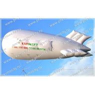 Рекламный Дирижабль Газовый аэростат 6 х 2,2 м, фото 1