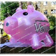 Рекламный шар Свинка, фото 1