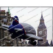 Рекламный Дирижабль Самолет, фото 1