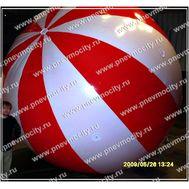 Рекламный шар Аэростат Полосатый 4 м, фото 1