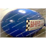 "Рекламный шар ""Такси"" 6 х 2.2 м, фото 1"