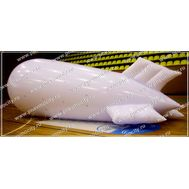Рекламный дирижабль Белый 6 х 2.2 м, фото 1