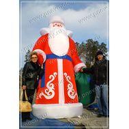 Надувной Дед Мороз, фото 1