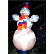 Надувной Снеговик. С подсветкой., фото 1