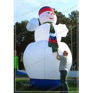 Надувной Снеговик Огромный, фото 1