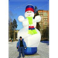 Надувной Снеговик, фото 1