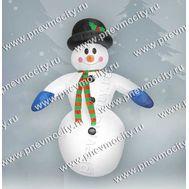 Надувной Снеговик. В шляпе., фото 1
