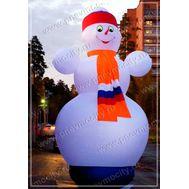 Надувной Снеговик. Стилизованный., фото 1