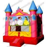 "Батут замок ""Принцессы"", фото 1"