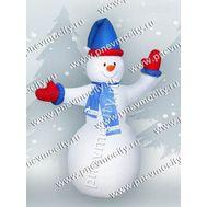 Надувной Снеговик. Брендированный., фото 1