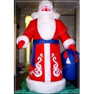 """Надувной Дед Мороз. """"Красный нос"""", фото 1"""