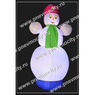 """Надувной Снеговик. Стилизованный. """"Башнефть"""", фото 1"""