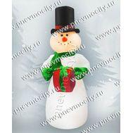 Новогодняя надувная фигура Снеговик, фото 1