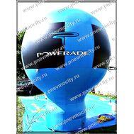 """Надувной рекламный шар На стойке """"POWERADE"""", фото 1"""