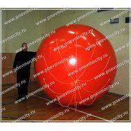 Рекламный шар Аэростат Газовый Красный, фото 1