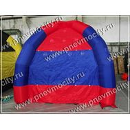 Надувной шатер. Красно-синий., фото 1