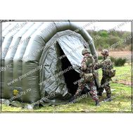 Надувной тент Мобильная палатка Военная, фото 1