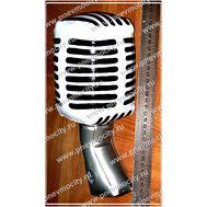 POS материал. Микрофон., фото 1