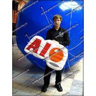 """POS материал. Логотип. """"AIO""""., фото 1"""
