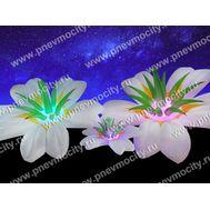 Надувной цветок Экзотика Белый Диаметр 1м, фото 1