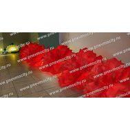 Надувные красные розы для оформления свадьбы, фото 1