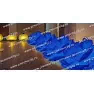 Надувные синие розы для оформления свадьбы, фото 1