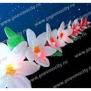 Пневмогирлянда Цветы Лилия белая., фото 1