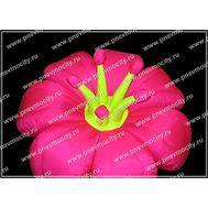 Пневмофигура Цветок Розовый, фото 1