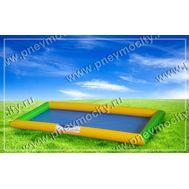 Надувной бассейн для зорба. Желто-зеленый, фото 1