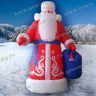 Надувной Дед Мороз. Большой. 6 м, фото 1
