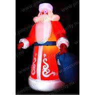 Надувной Дед Мороз. Живой, фото 1