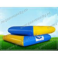 Надувной бассейн квадратный. Желто-синий 3 х 3 х 0,6м, фото 1