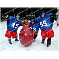 Зимний аттракцион. Американский Футбол., фото 1