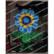 Надувной костюм. Цветок. Синий. 3м, фото 1