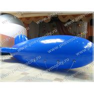 Рекламный Дирижабль. Синий. 6 х 2,2 м, фото 1