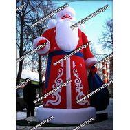 Надувной Дед Мороз. Большой. 5,7 м, фото 1