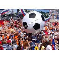 Надувной аттракцион Гигантский футбольный мяч, фото 1