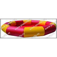 Надувной бассейн. Желто-розовый., фото 1