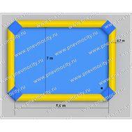 Надувной бассейн. Желто-голубой., фото 1