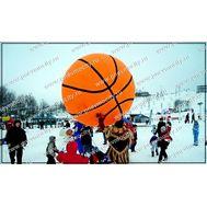 Огромный баскетбольный мяч., фото 1