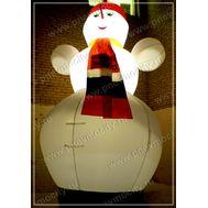Надувной Снеговик с подсветкой, фото 1