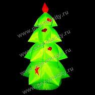 Надувная новогодняя елка. Гламурная, фото 1