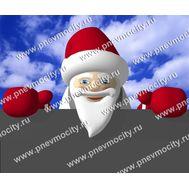 Большой Надувной Санта Клаус на крышу 5,5 х 5 м, фото 1