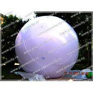 Аэростат шар. Белый. 3м, фото 1