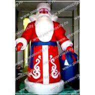 Надувной Дед Мороз. Большой., фото 1