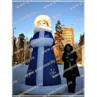 Надувная Снегурочка., фото 1