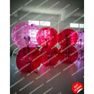 Надувной аттракцион Бампербол красный ПВХ 1,3 х 1 м, фото 1